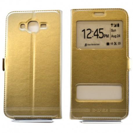 Чехол-книжка G-CASE Samsung Galaxy J7 Gold (Золотой)