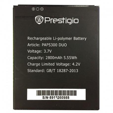 Аккумуляторная батарея для Prestigio MultiPhone 5300/5307 Duo PAP5300 DUO 2800 mAh