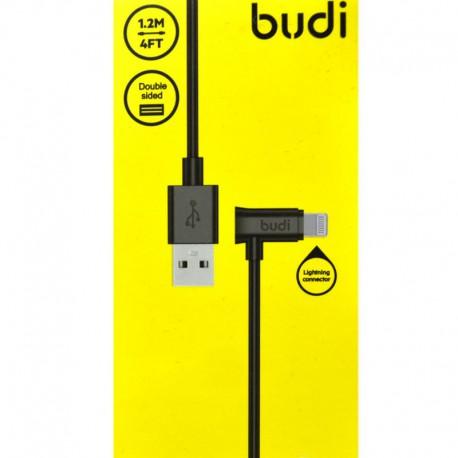 Переходник budi USB - iPhone 5G (угловой)