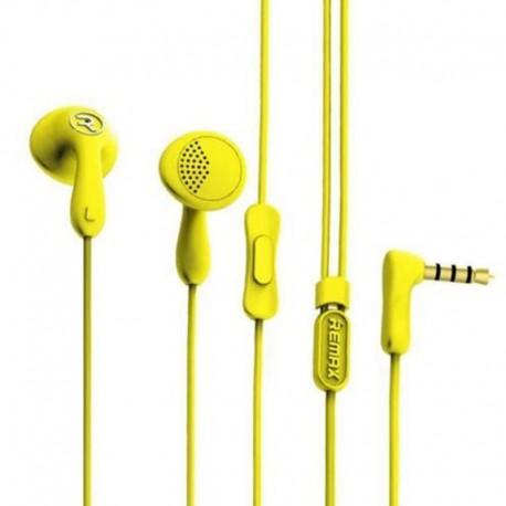 Наушники Remax RM-505 Candy Yellow (Желтый)