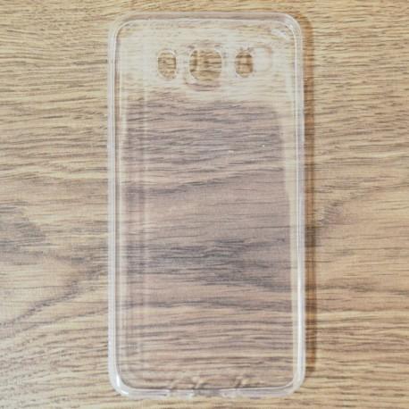 Силиконовый ультратонкий чехол Remax Samsung Galaxy J7 2016 J710 White (Белый)