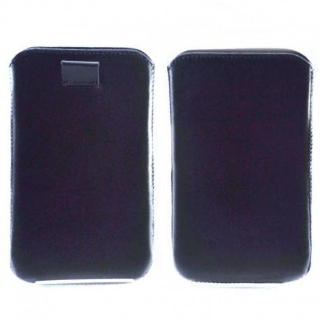 Чехол-хлястик iPhone 6G+ Black (Черный)