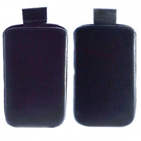 Чехол-хлястик Samsung D780 Duos Black (Черный)