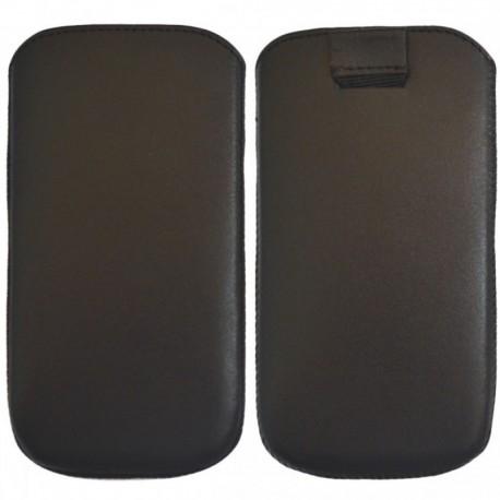 Чехол-хлястик Samsung Galaxy J7 Black (Черный)