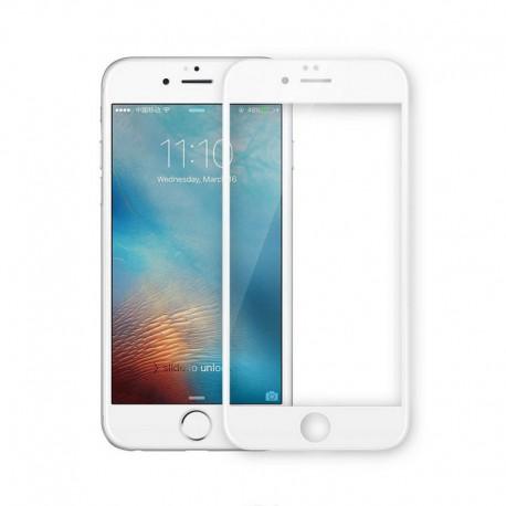 Защитное стекло 3D Glass Rock iPhone 6G/6S White (Белый) Перед