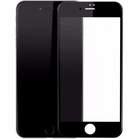 Защитное стекло 3D Glass Rock iPhone 6/6S Black (Черный) Перед