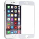 Защитное стекло 3D GLASS HOCO для iPhone 6 Plus White (Белый)