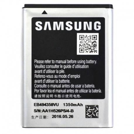 Аккумуляторная батарея для Samsung Galaxy Pro/M Pro/Y Pro/Gio/Ace EB494358VU 1350 mAh PREMIUM