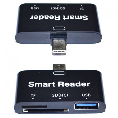 Переходник Smart Reader USB-OTG - TYPE-C