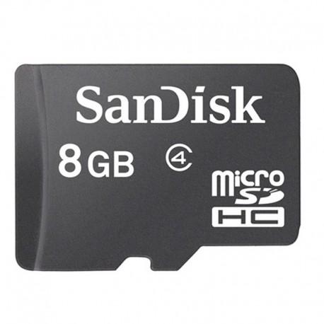 Карта памяти microSD SanDisk 8 Gb 4 Class