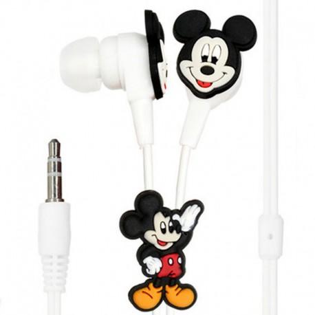 Вакуумные наушники Mickey Mouse Black (Черный)