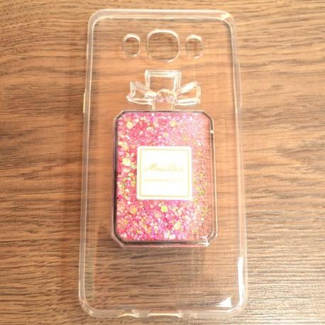 Чехол Swim Sequins Miss Dior Samsung Galaxy J5 2016 J510 Pink (Розовый)