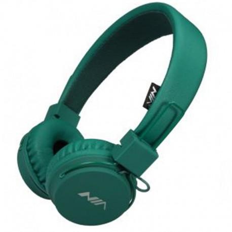 Наушники NIA A1 Green (зеленый)