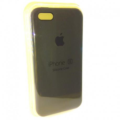 Силиконовый чехол (silicone case) iPhone 5G/5S/5SE Gray (Серый) (8313)