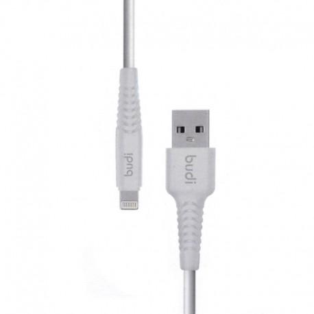 Кабель budi USB - iPhone 7G 1.2 м Standart