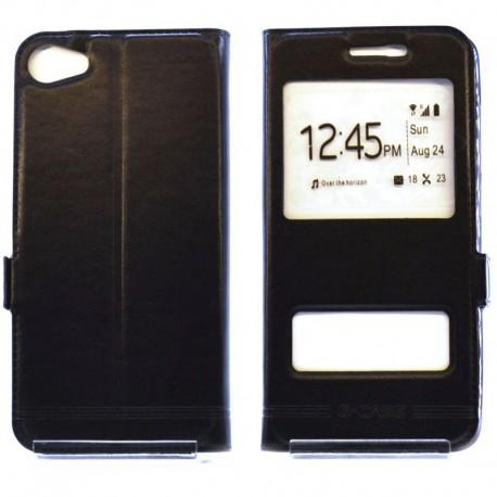 Чехол-книжка G-CASE Meizu U10 Black (Черный)
