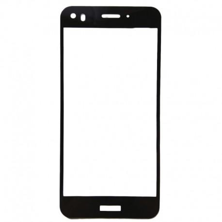Защитное стекло 2D Glass Rock Huawei Nova Black (Черный) Перед