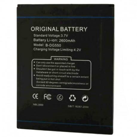 Аккумуляторная батарея для Doogee G550/DG550 B-DG550 2600 mAh
