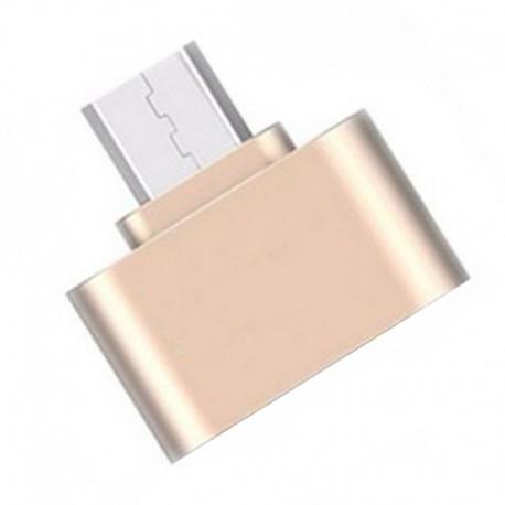 Переходник USB OTG - Micro USB (литой)
