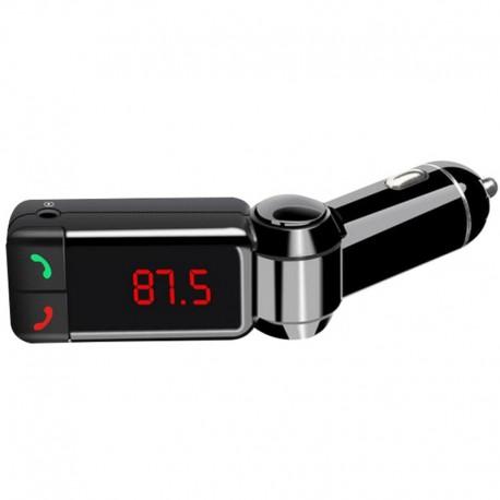 FM-модулятор c Bluetooth Two-Plug 2 USB FM8884