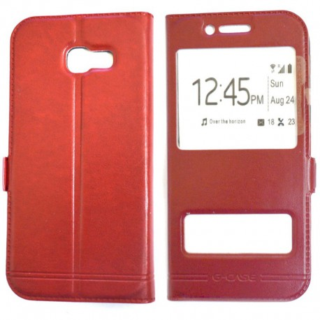 Чехол-книжка G-CASE Samsung Galaxy A5 2017 Duos A520 Red (Красный)