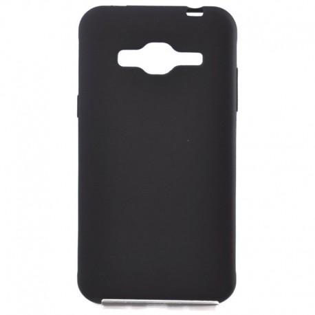 Силиконовый чехол Simin Style Samsung Galaxy J3 2016 J310/J320 Black (Черный)