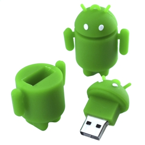 USB флешка-игрушка ANDROID 32 Гб
