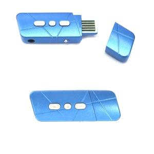MP3 Плеер б/э под USB Blue (Синий)