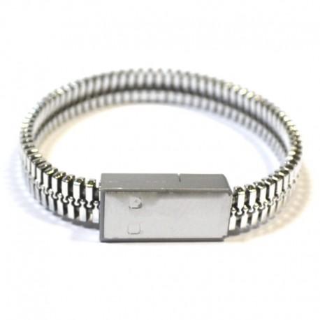 Переходник-браслет USB - Micrо USB 0.2 м