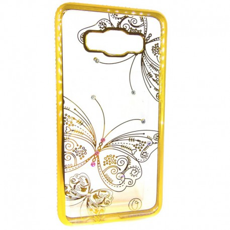 Чехол Kings Bar Butterfly Samsung Galaxy J5 2016 J510 Gold (Золотой)
