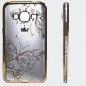 Чехол Kings Bar Butterfly Samsung Galaxy J3 2016 J310/J320 Gold (Золотой)
