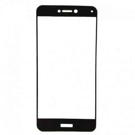 Защитное стекло 2.5D GLASS HOCO Huawei P8 Lite (2017) Black (Черный) Перед