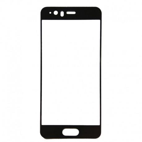 Защитное стекло 2.5D GLASS HOCO Huawei P10 Black (Черный) Перед
