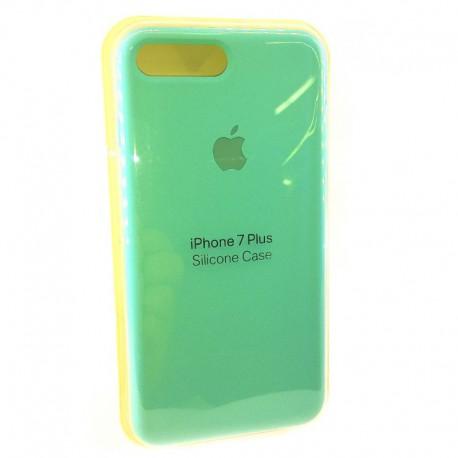Силиконовый чехол (silicone case) iPhone 7G+ Mint (Мятный)