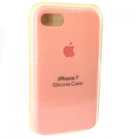 Силиконовый чехол (silicone case) iPhone 7G Pink (Розовый)