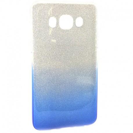 Чехол Vaja Samsung Galaxy J7 2016 J710 Blue/Silver (Синий/Серебряный)