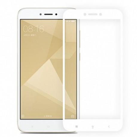 Защитное стекло 2.5D GLASS HOCO Xiaomi Redmi 4x White (Белый)