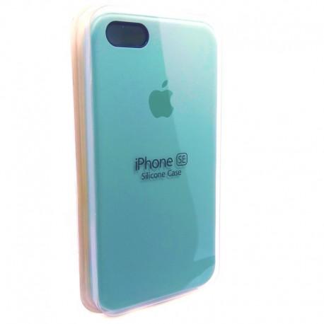 Силиконовый чехол (silicone case) iPhone 5G/5S/5SE Fresh Mojito