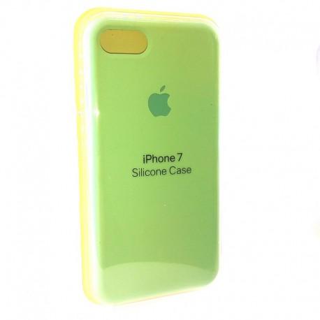Силиконовый чехол (silicone case) iPhone 7G Fresh Mojito