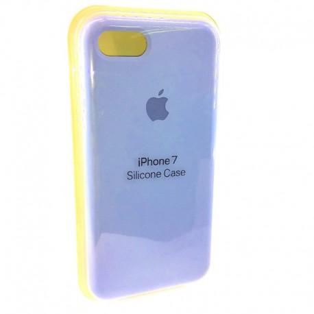 Силиконовый чехол (silicone case) iPhone 7G Blue Agate