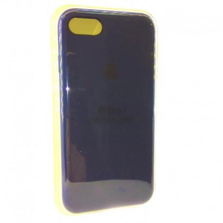 Силиконовый чехол (silicone case) iPhone 7G Navy storm