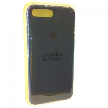 Силиконовый чехол (silicone case) iPhone 7G+ Navy storm