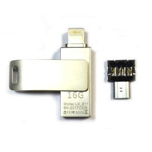 USB-OTG флешка IOS/Android/Windows IDrive 16Gb