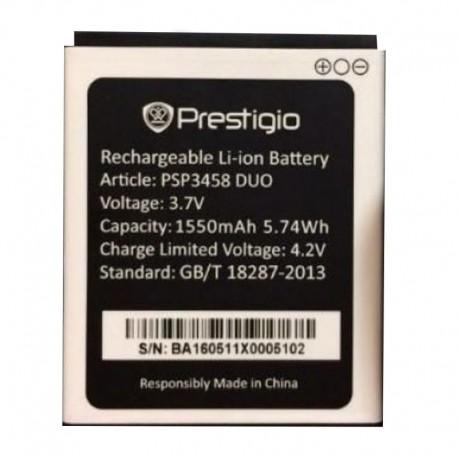 Аккумуляторная батарея для Prestigio MultiPhone Wize O3 PSP3458 DUO 1550 mAh