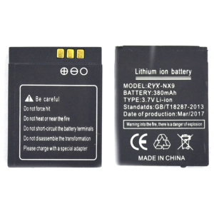 Аккумуляторная батарея RYX-NX9 для Smart Watch L1 380 mAh