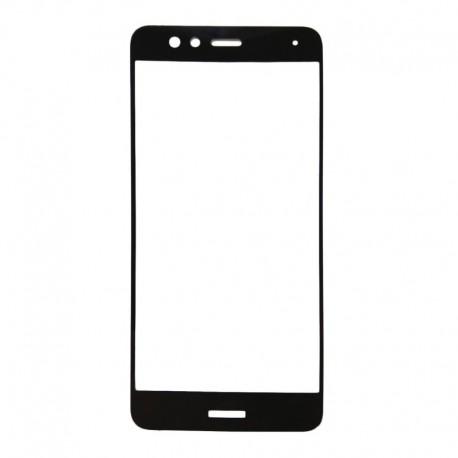 Защитное стекло 2.5D GLASS HOCO Huawei P10 Lite Black (Черный) Перед
