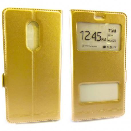 Чехол-книжка G-CASE Xiaomi Redmi Note 4x Gold (Золотой)