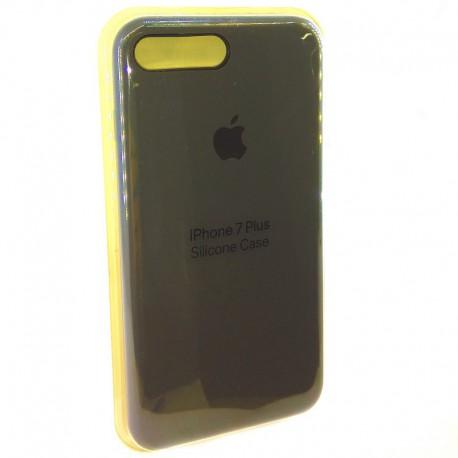 Силиконовый чехол (silicone case) iPhone 7G+ Gray (Серый)