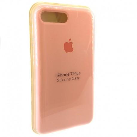 Силиконовый чехол (silicone case) iPhone 7G+ Pink (Розовый)