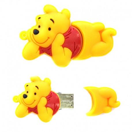 USB флешка-игрушка лежачий Винни Пух 8 Гб